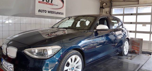 BMW i116 – 2.0T 136KM