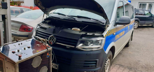 Wodorujemy auta Straży Miejskiej